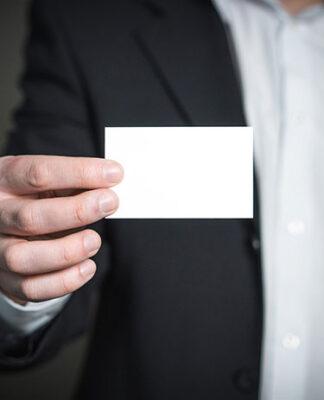 Wizytówka – ważny element Twojego biznesu